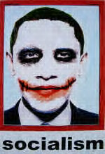 The L.A. poster of our clownish leader